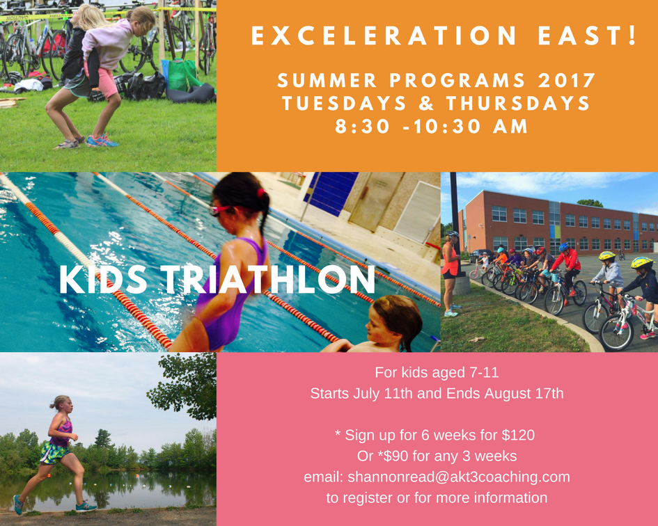 Exceleration East!Summer Triathlon